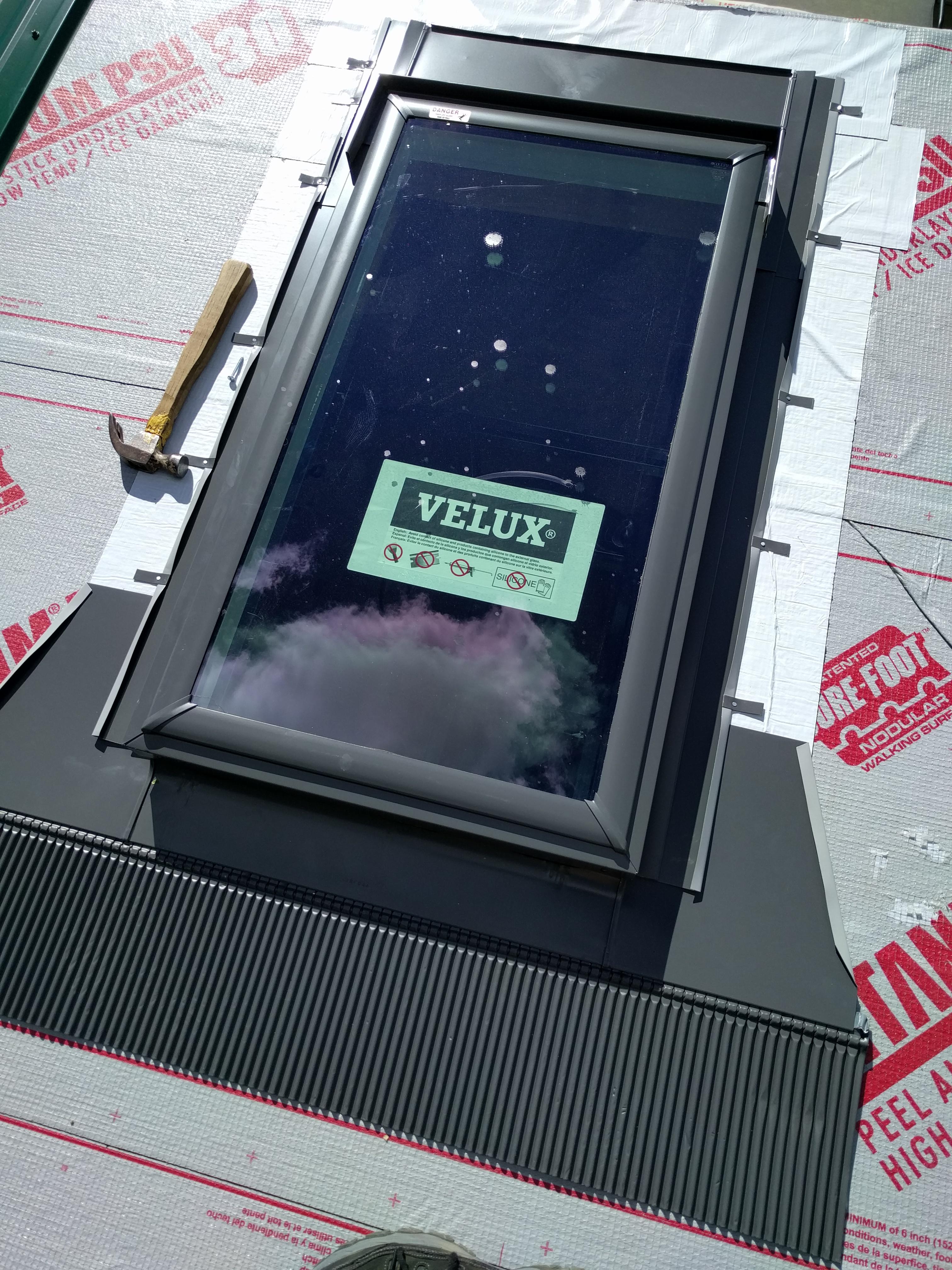 Tiny House Velux Skylight