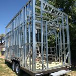 Building The Tyndall Shell - Steel Frame
