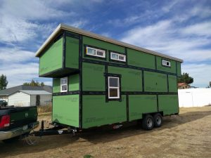 Building The Tyndall Tiny House Shell